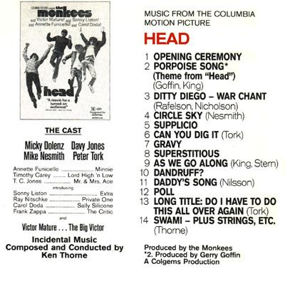 Monkees Head Soundtrack